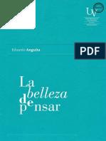 Anguita Eduardo - La Belleza De Pensar.pdf