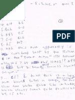 Bobby Fischer Chess Hand Notes
