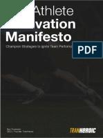 The Athlete Motivation Manifesto