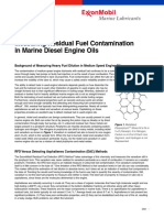 Measuring Residual Fuel Contamination
