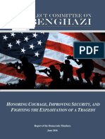 Report of the Benghazi Select Committee Democratic Members