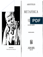 Aristóteles Metafísica001