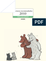 Anaya Infantil. Lecturas recomendadas 2010
