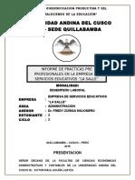 Informe Pp Administracion - Modelo
