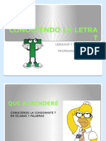CONOCIENDO LA LETRA T.pptx
