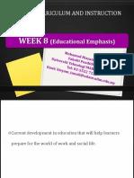 education emphasis