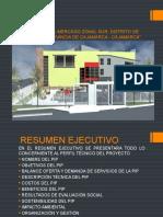Mercado Sur de Cajamarca - Resumen Ejecutivo