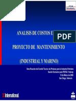 Analisis de Costos en Un Proyecto de Mantenimiento Marz 2006 [Read-Only]