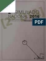 2º Simulado Nacional - Prova Do Dia 2