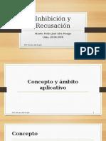 200416 - Inhibición y Recusación - Diplomado NCPP Dr. Pedro Alva Monge