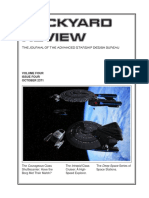 Dockyard Review,The Journal of the Advanced Starship Desing Bureau,Volume 4, Issue 4-October 2371