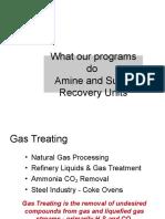 Amine Systems