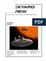 Dockyard Review,The Journal of the Advanced Starship Desing Bureau,Volume 4, Issue 8-April 2376