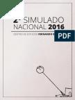 Segundo Simulado Nacional - Fernando Beltrao