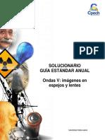 Solucionario CB32 Guía Práctica Ondas v Imágenes en Espejos y Lentes 2016