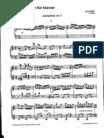 Part, Arvo - Zwei Sonatinen Fur Klavier Op. 1 [20]