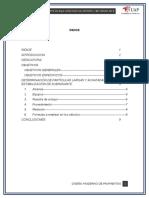 Marco Teorico Porcentaje de Particulas Chatas y Aplanadas