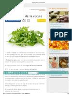 10 Beneficios de La Rúcula _ Salud