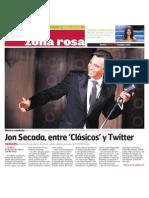El CentroTampa • Jon Secada, entre 'Clásicos' y Twitter
