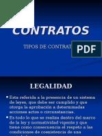 1.-Contratos - Clase de Contratos