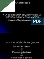 La Sociometría de Los Grupos