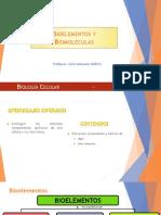 Clase 06 - Bioelementos y Biomoléculas Inorgánicas
