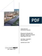 CalgaryNEXT Response to DCM Report