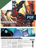 Prensa Comunicado Novedades Agosto 2016