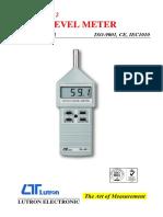 Sound Level Meter Sl-4011