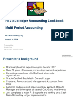R12 Subledger Accounting Cookbook - Multi-period Accounting