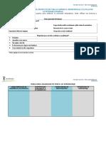 Formato-proyecto de Vida y Planeacion Actividades Diaria