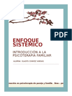Enfoque sistémico en Psicoterapia Familiar