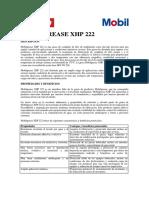 Ficha Técnica Ht Mobilgrease Xhp 222