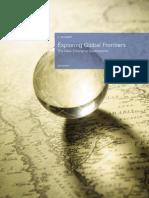 KPMG - Exploring Global Frontiers, 2009