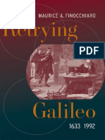 FINOCCHIARO ¢ Retrying Galileo, 1633-1992