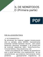 CONTROL DE NEMÁTODOS  2° AÑO (Primera  parte )