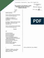 Persuader Rule - TX Injunction