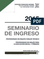 Seminario 2015 Ingles