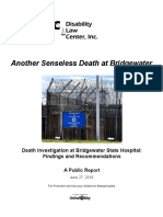 Public Report - Another Senseless Death at Bridgewater Final