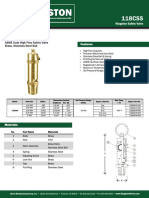 Safety Valve- 118CSS Specification