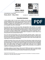 Policy Brief Squatting Statistics 2015 - Version 2