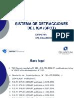 Detracciones y Determinacion de IR Eduardo Huayanca