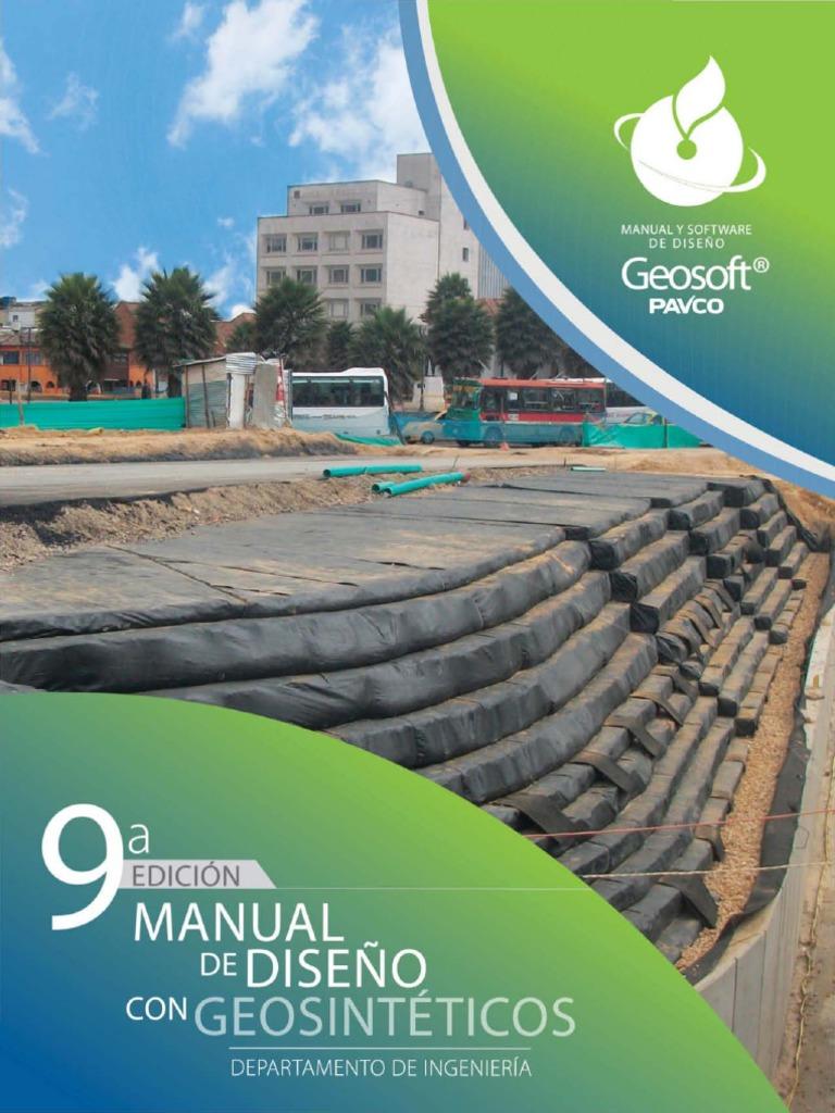Manual Diseño Geotextiles Pavco - 2015