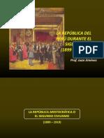Republica Del Peru Siglo XX