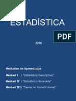 Clase 01 Conceptos Básicos de Estadística