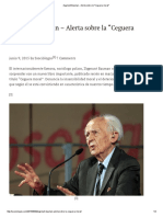 Zygmunt Bauman - Alerta Sobre La _Ceguera Moral