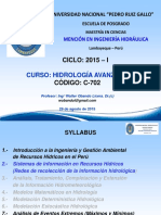 300 Clase 3 Redes Hidrometeorológicas 29 Ago 2015