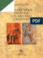 Los Misterios Paganos y El Misterio Cristiano