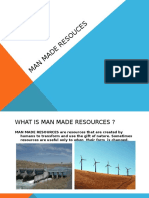 Man Made Resources Presentation