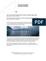 The Arctic Circle 2015 Application Guidelines